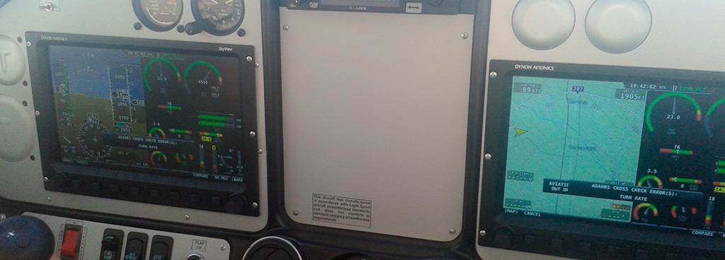 TECNAM P 2002 SIERRA. Incorporamos la última tecnología en equipamiento EFIS para vuelo por instrumentos